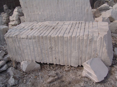 marble statue - Raw Material