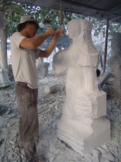 marble statue - Figuration