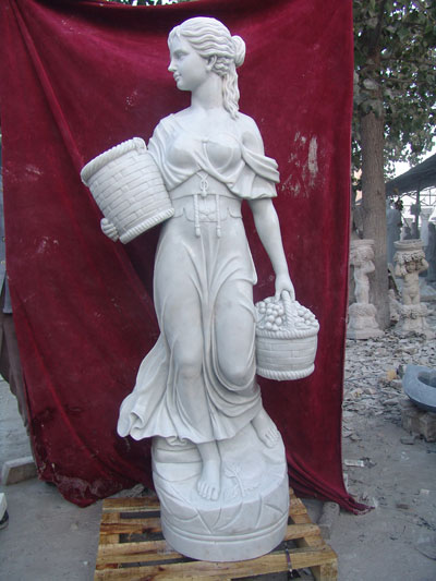 marble statue - Finished Product